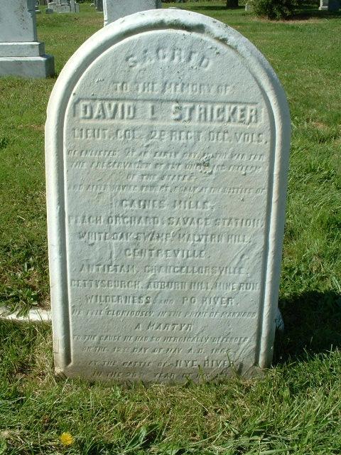 LTC David L Stricker