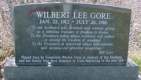 Wilbert Lee Gore