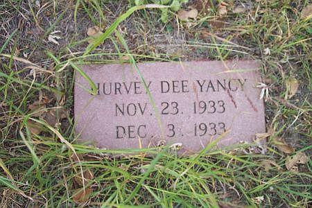 Hurvey Dee Yancy