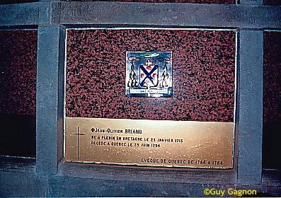 Bishop Jean-Olivier Briand