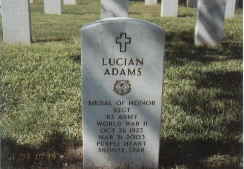 SSGT Lucian Adams