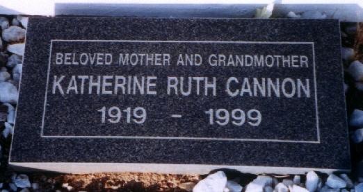 Katherine Ruth Cannon