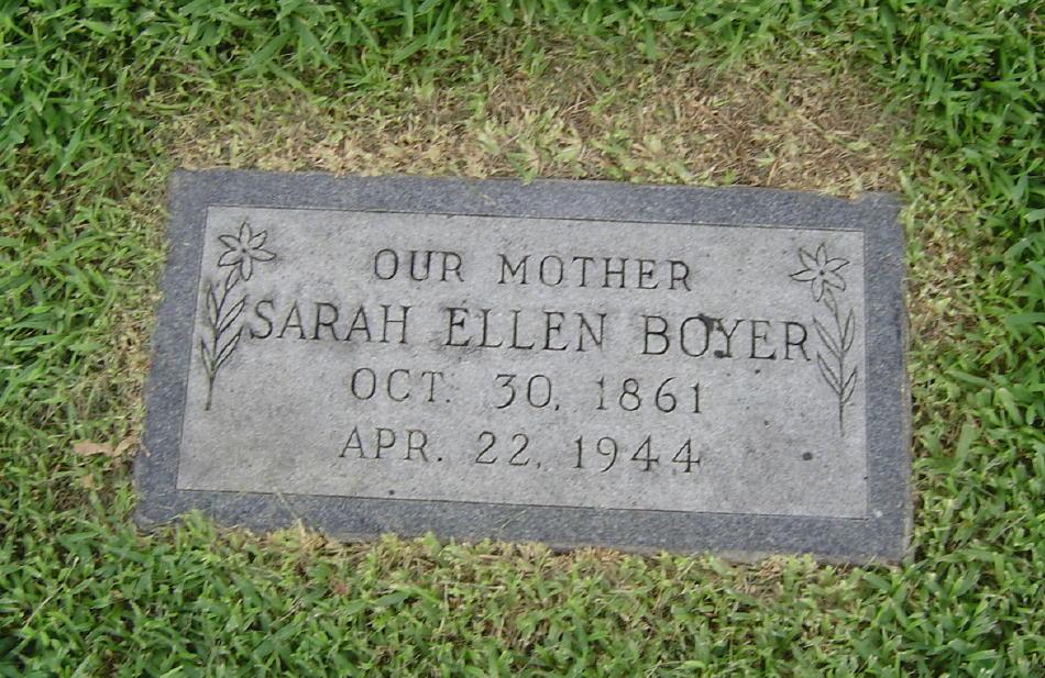 Sarah Ellen <i>Cloyd</i> Boyer