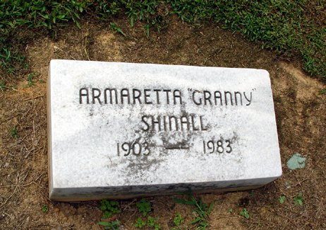 Armaretta <i>Howell</i> Shinall