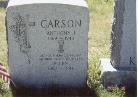 SGT Anthony J. Carson