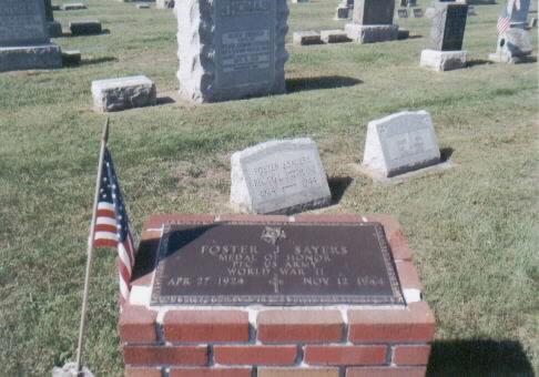 PFC Foster Joseph Sayers