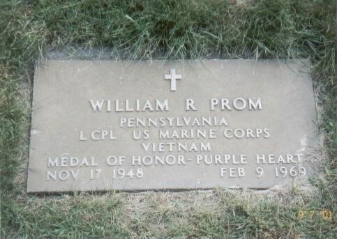 LCpl William Raymond Prom