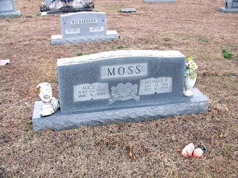 Alonzo P Moss