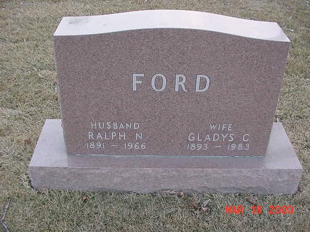 Gladys Cecil <i>Morse</i> Ford