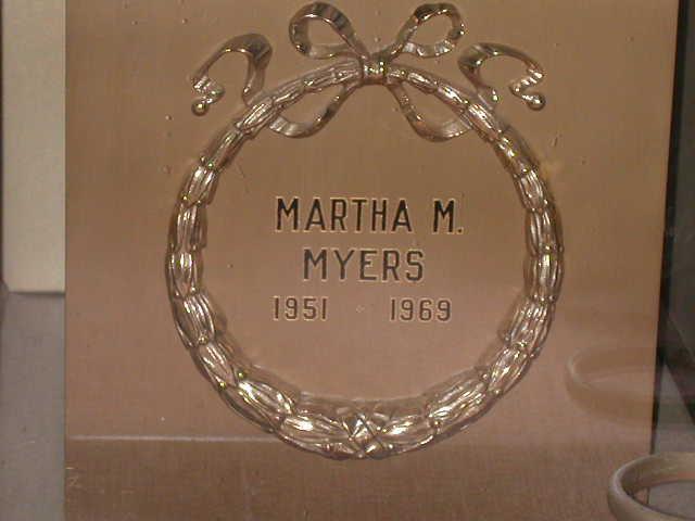 Martha Margret Myers