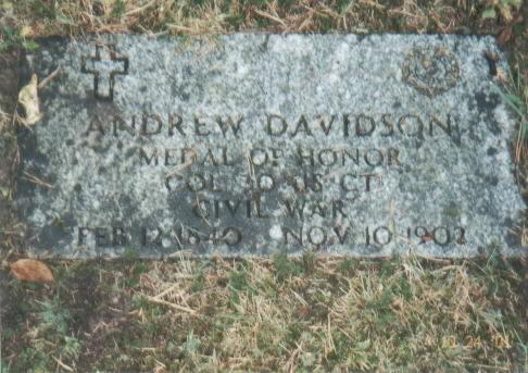 CPT Andrew Davidson