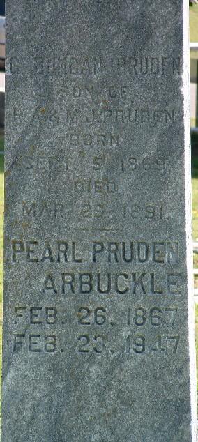 Pearl B <i>Pruden</i> Arbuckle