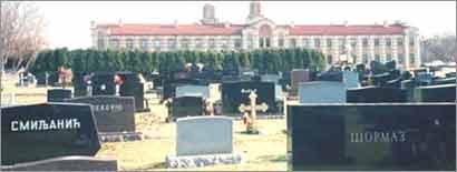 New Gracanica Serbian Orthodox Cemetery