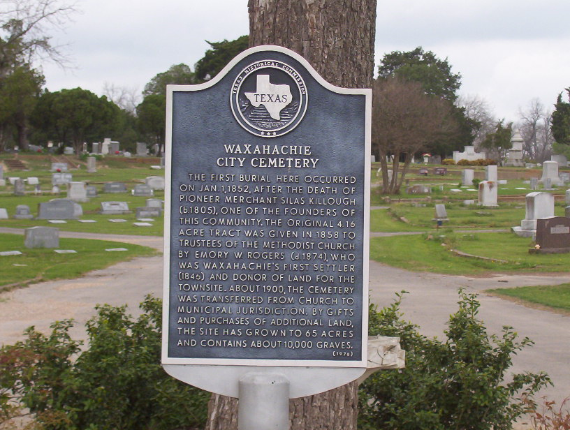 Waxahachie City Cemetery
