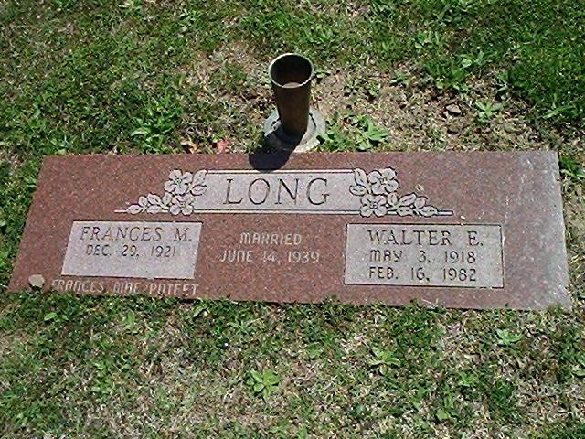 Walter Edwin Long