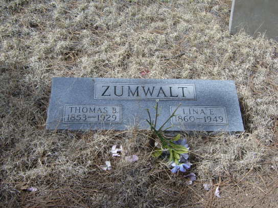 Pauline Elizabeth Lina <i>Paul</i> Zumwalt
