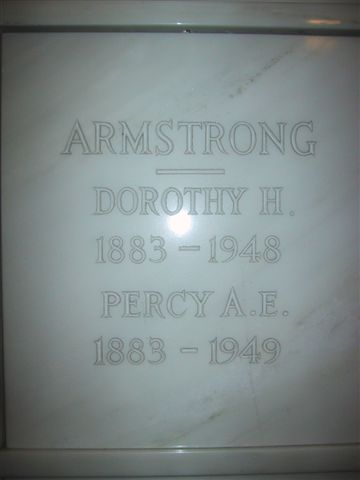 Dorothy H Dolly Armstrong