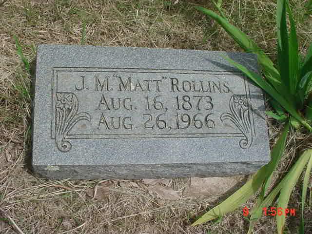 Jeremiah Madison Mat Rollins