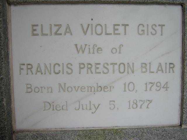 Eliza Violet <i>Gist</i> Blair