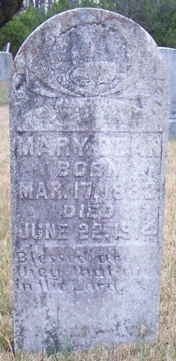 Mary Bathsheba <i>Culpepper</i> Dean