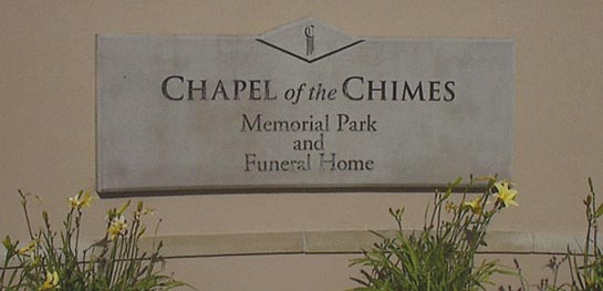 Chapel of the Chimes Memorial Park