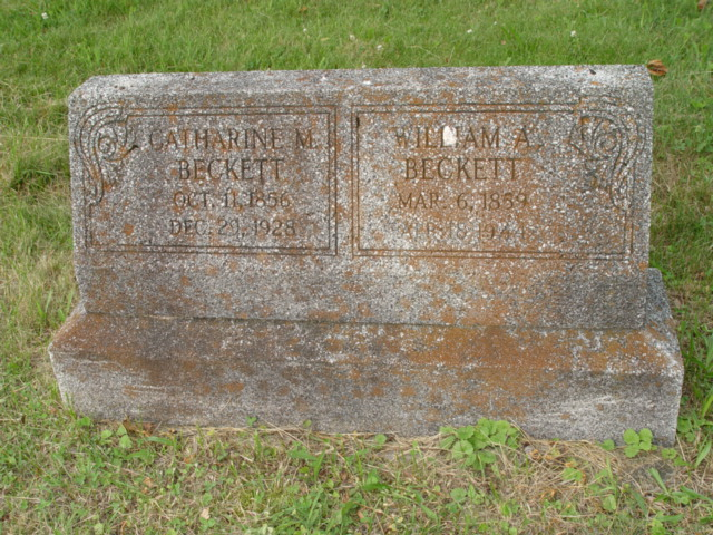 Catherine M. <i>Spurlock</i> Beckett
