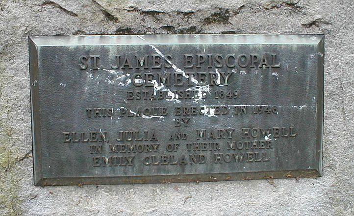 Saint James Episcopal Cemetery