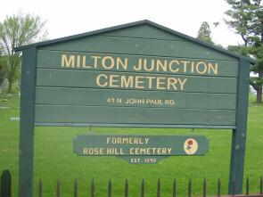 Milton Junction Cemetery