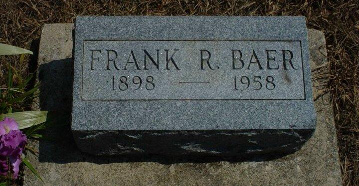 Frank R Baer