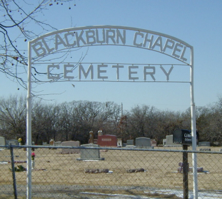 Blackburn Chapel Cemetery