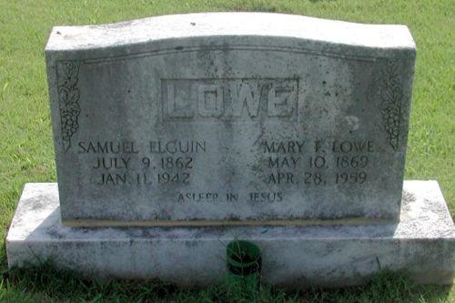 Mary Frank <i>Lowe</i> Lowe