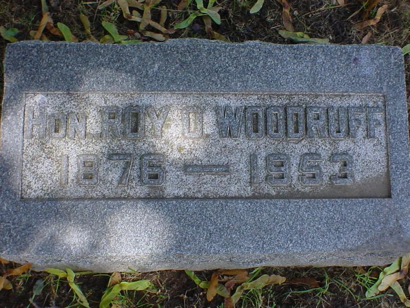 Roy Orchard Woodruff