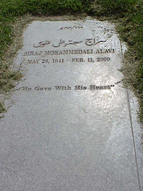 Br Siraj Mohammedali Alavi