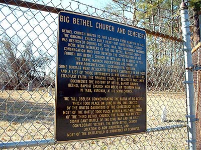Big Bethel Church Cemetery