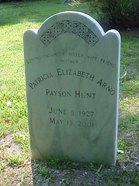 Patricia Elizabeth <i>Arno-Payson</i> Hunt