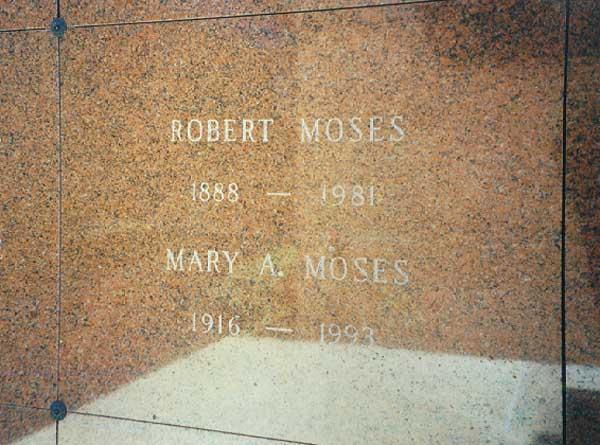 Robert Moses 1888 1981 Find A Grave Memorial