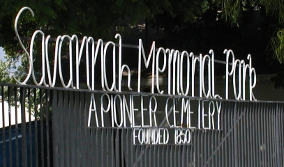 Savannah Memorial Park Cemetery