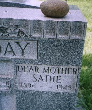 Sarah Julia Sadie <i>Fagan</i> Holiday