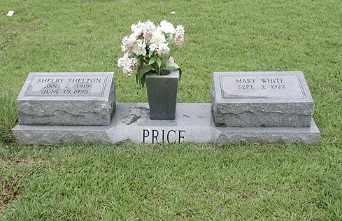 Mary <i>White</i> Price