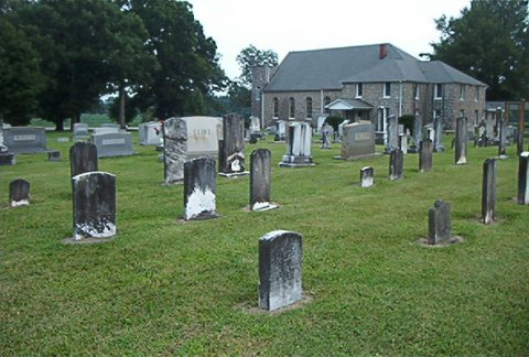 Saint Peters Methodist Church Cemetery