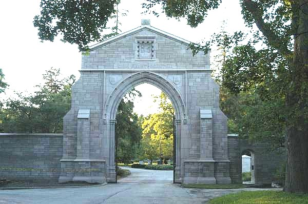 Image result for lake forest cemetery