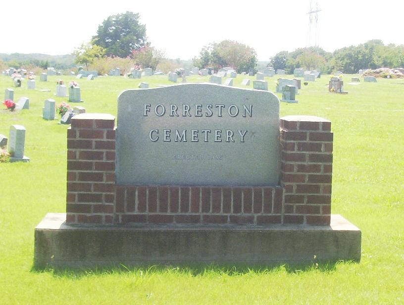 Forreston Cemetery in Forreston, Texas - Find A Grave Cemetery