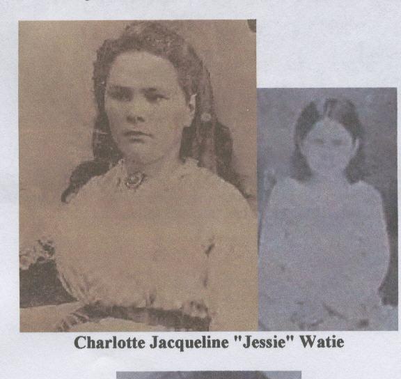 Charlotte Jacqueline Jessie Watie