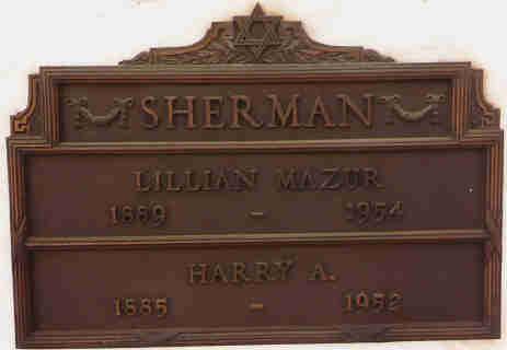 Harry Pop Sherman