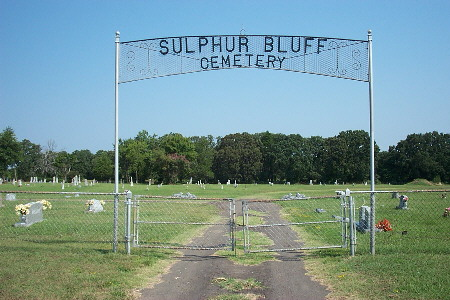Sulphur Bluff Cemetery