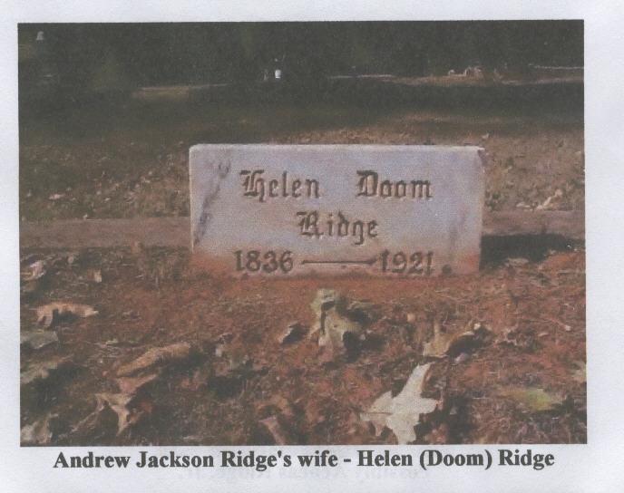 Helen Caroline <i>Doom</i> Ridge