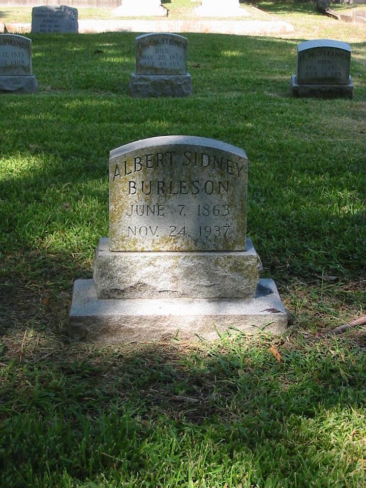 Albert Sidney Burleson