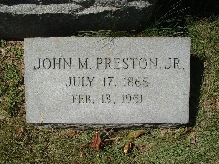 John Montgomery Preston, Jr
