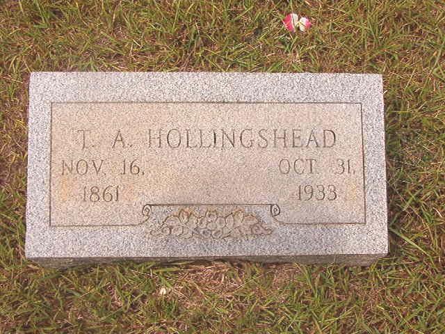 Thomas Alexander Hollingshead