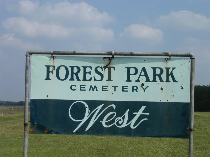 Forest Park Cemetery West